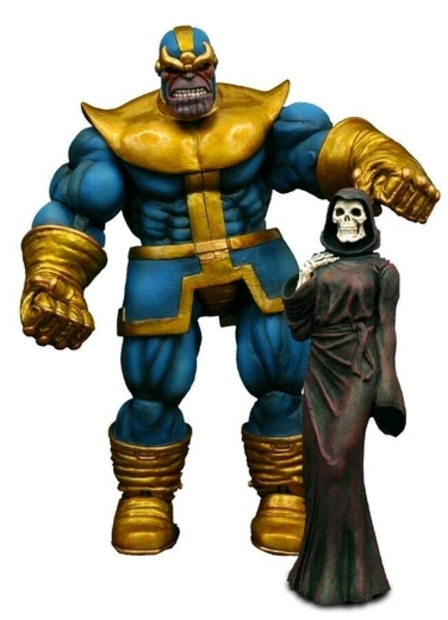 Marvel Marvel Marvel Comics - Thanos Select Action Figure-DSTMAY052331 9a8600