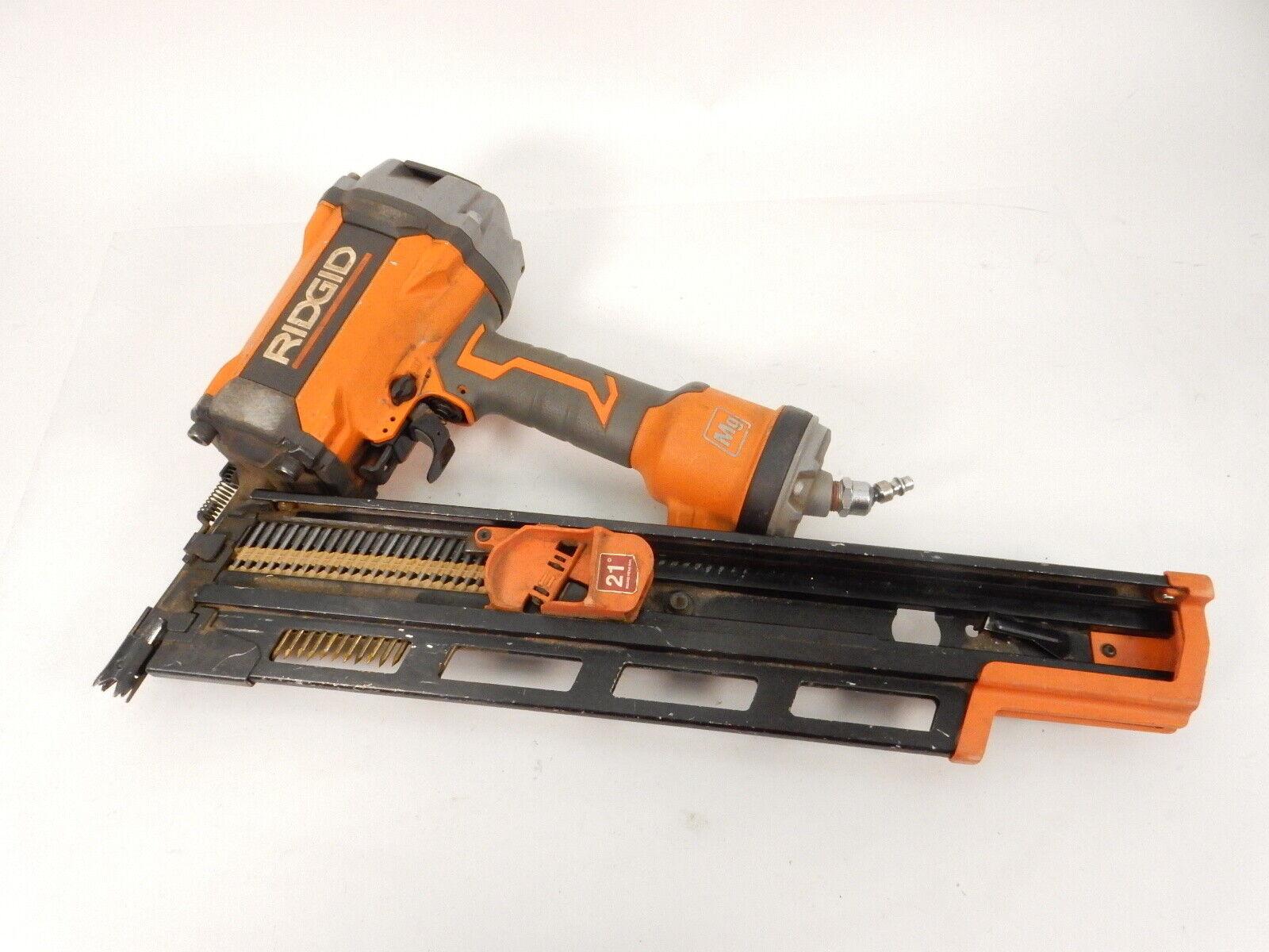 Ridgid R350RHF 21° 3-1/2 in. Round-Head Framing Nailer. Buy it now for 129.92