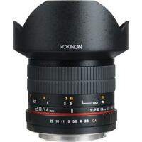 Rokinon 14mm Ultra Wide-Angle f/2.8 IF ED UMC Lens For Canon SLR Cameras FE14M-C