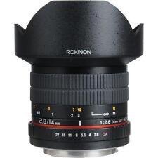 Rokinon 14mm Ultra Wide-Angle f/2.8 IF ED UMC Lens For Canon SLR Cameras FE14M-C