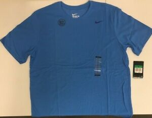 Nike-706625-435-Men-039-s-Dri-FIT-Cotton-T-shirt-Light-Photo-Blue-Size-M-XL-and-2XL