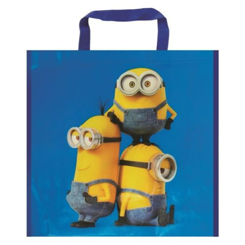 Minion shopping kids school bag.