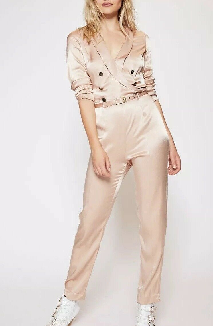 Free people I Am a Woman Jumpsuit New 12  300