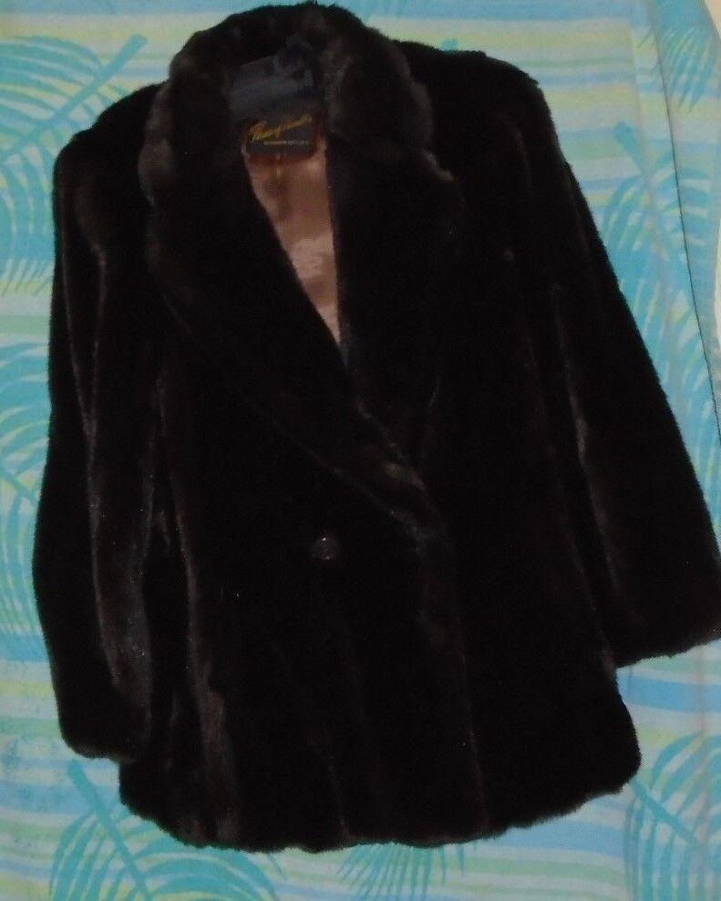 Vintage  Fur looking Coat, Medium Large Top Quality, The House of hurdles