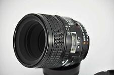 Nikon AF Micro Nikkor 60mm F2.8 D Macro Prime Lens made in Japan uk seller