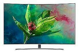 **REDUCED**SAMSUNG 55INCH QA55Q8CNAK QLED 4K CURVED SMART LED TV. BRAND NEW IN THE BOX.