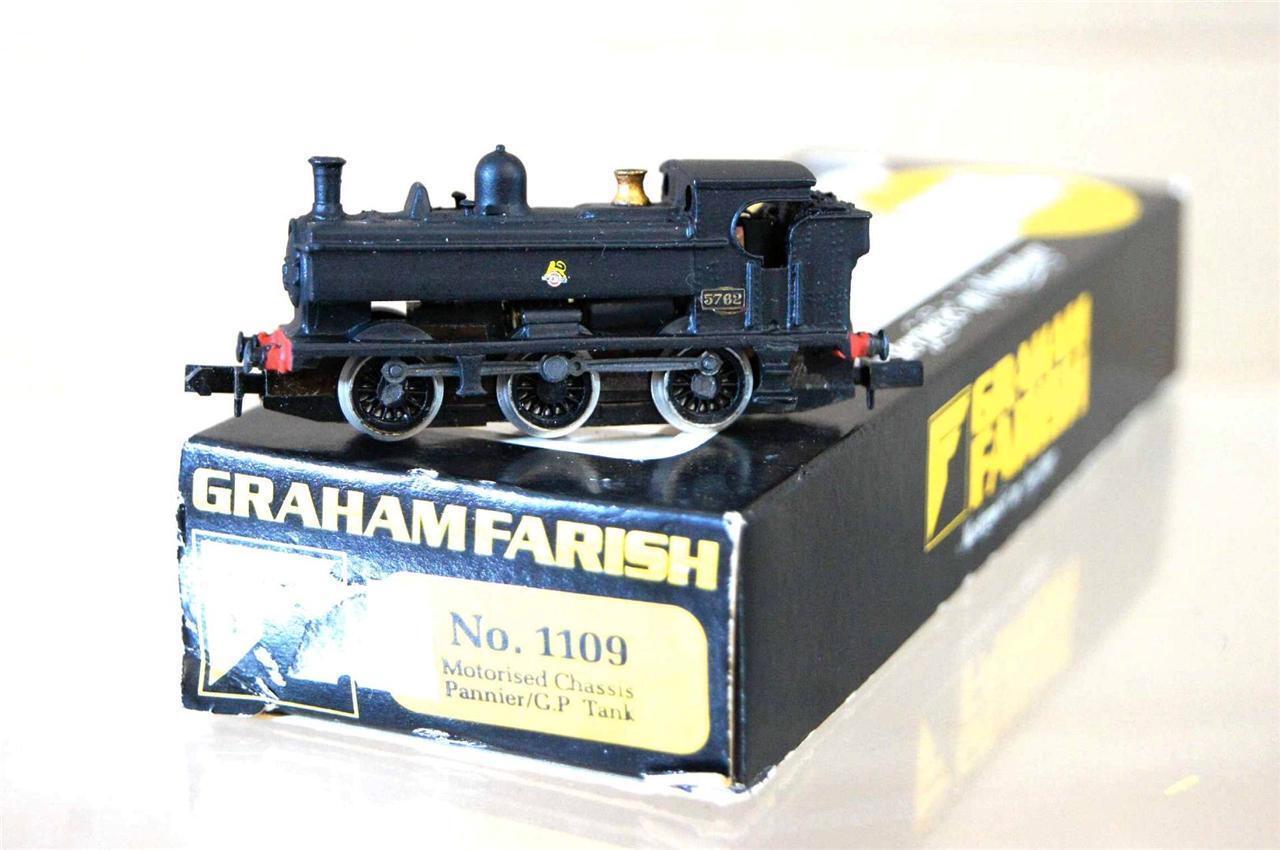 Graham Farish 1109 Kit Costruito Langley Br 0-6-0 Class 57xx Pannier Tank