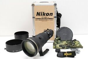 NEAR-MINT-Nikon-Ed-Nikkor-AF-S-400mm-f-2-8-D-Teleobjektiv-mit-Trunk-aus-Japan