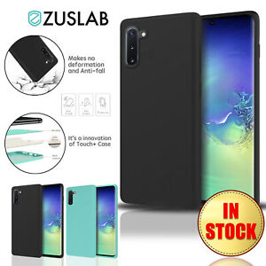 For-Samsung-Galaxy-Note-10-Plus-5G-Case-ZUSLAB-Soft-Silicone-Shockproof-Cover