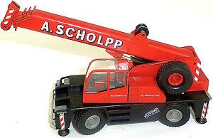 DEMAG-AC25-Ville-Classe-Grue-mobile-A-Schlopp-rouge-Liebherr-Conrad-2089-1-50-a