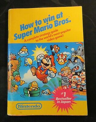 Games players guide Book How to Win at Super Mario Bros