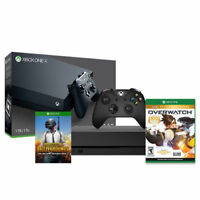 Microsoft Xbox One X 1TB Console + OverWatch PS4 + PUBG