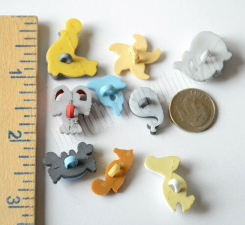 Sea Life Nautical Shank Buttons Sea Horse ~ Seal  ~ Whale ~ Pelican