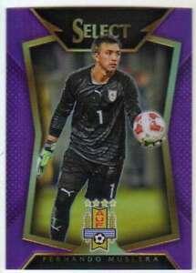 2015-16 Panini Select Soccer Variation Purple Prizm /99 #52 Fernando Muslera