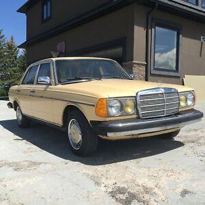 240 D Mercedes Benz 1980 All Original