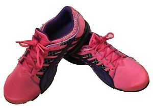 Puma-10-Cell-Women-039-s-Tennis-Shoes-Sz-9-Pink-Purple-Running-Athletic-186612-01
