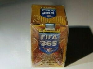 PANINI FIFA 365 2020 BOX + 3 free packs - ERLING HAALAND #427 GREENWOOD ROOKIE