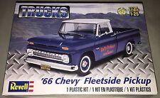 Revell '66 Chevy Fleetside Pickup Truck 1:25 scale plastic model kit new 7225