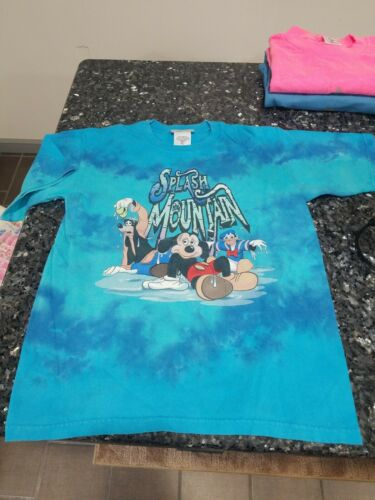 🔥VINTAGE Splash Mountain Disneyworld T Shirt RARE