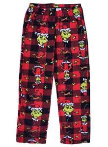 The GRINCH Movie Christmas Lounge Pants Womens Dr Seuss Sleep Pajama ... 4547f1297