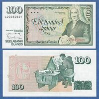 ICELAND 100 Kronur P 50 L 1961 (1981) UNC Low Shipping! Combine FREE!
