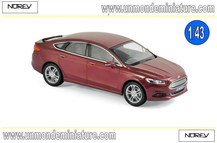Ford Mondeo 2014 rouge NOREV - NO 270553 - Echelle 1 43