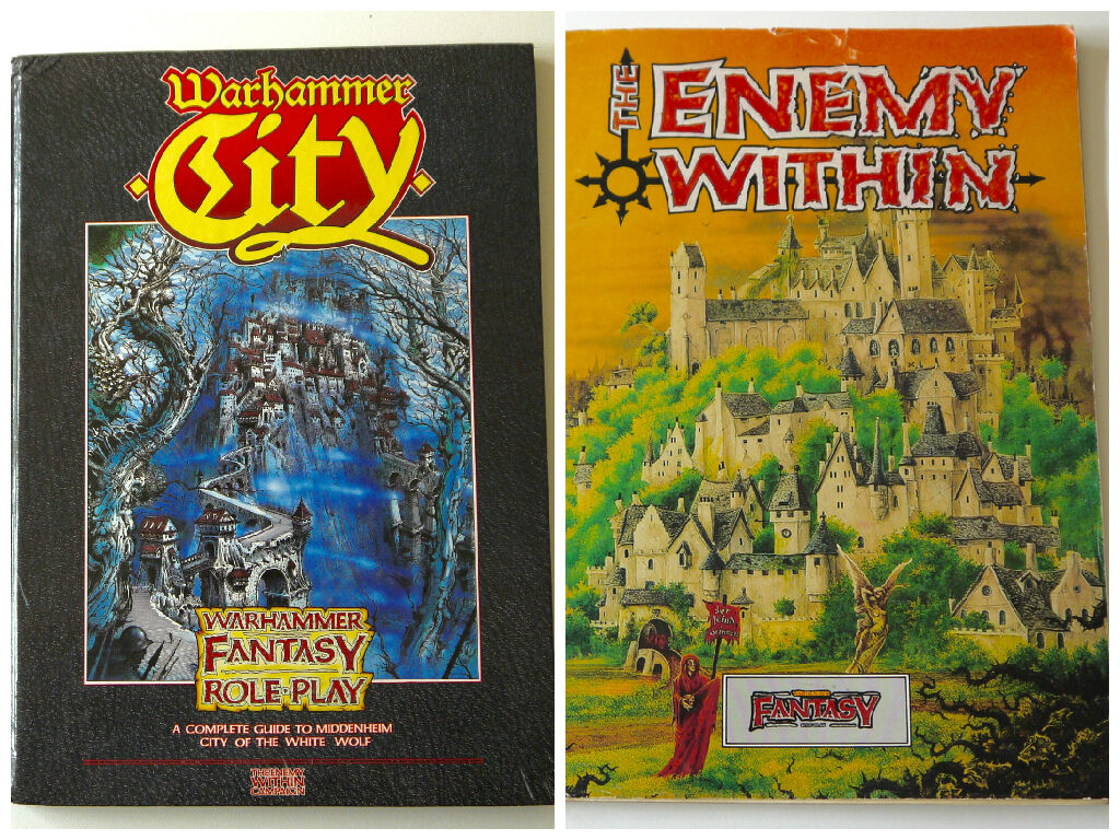 WARHAMMER source boks • middenheim l'ennemi dans • middenheim • city of the White Wolf fec0f1