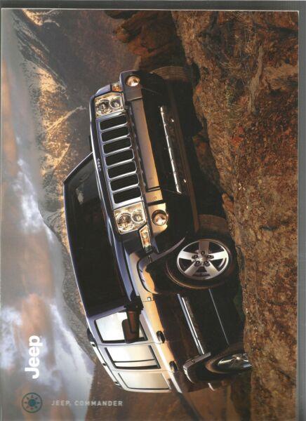 Catalogue Brochure Katalog Prospekt Jeep Commander Annee 2006 28 Pages Facile E Semplice Da Gestire