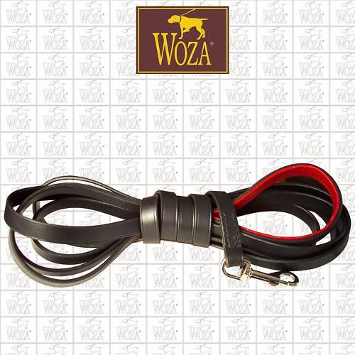 PREMIUM HUNDELEINE TRAININGSLEINE SCHLEPPLEINE VOLLLEDER WOZA LEDERLEINE LS22098     | Sehr gute Qualität