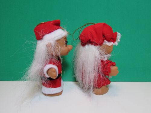 "NEW CHRISTMAS SANTA /& MRS CLAUS 3/"" Russ Trolls"
