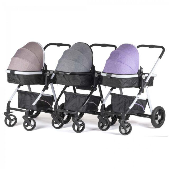 Kinderwagen Buggy 2in1 Baby Vivo Kombi Tragetasche Sport Klappbar Alu
