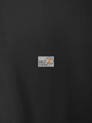 """CANVAS WATERPROOF//UV PROTECTED OUTDOOR FABRIC Black 60/"""" WIDTH SOLD BTY"""