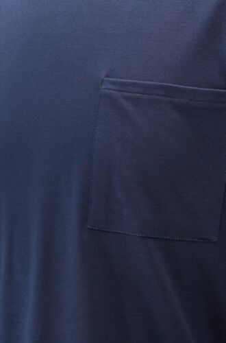 HUGO BOSS Sophi Bodywear Pyjama Long sleeve top cotton blend Navy RRP £65