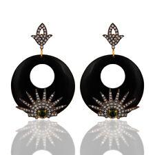 Designer Bakelite CZ Fashion Drop Earrings Handmade Fashion Jewelry