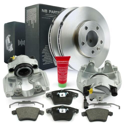 2x Bremssattel Bremsscheiben Bremsbeläge vorne VW Multivan Transporter T5 T6