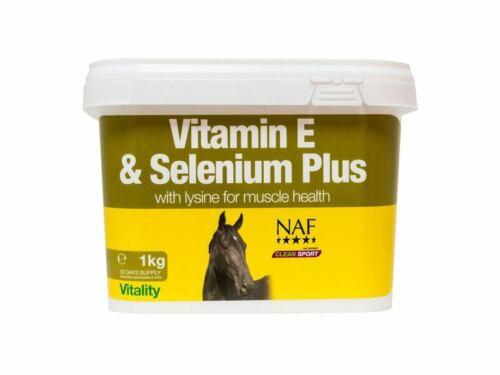 NAF Vitamin E Selenium Lysine for HorsesHorses /& Ponies