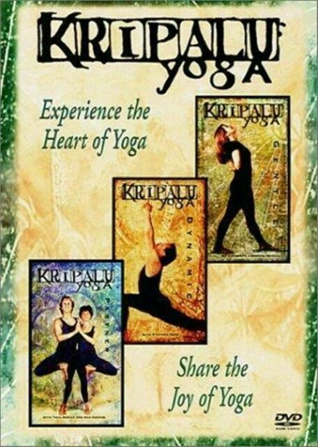Kripalu Yoga Boxed Set Dvd 2001 For Sale Online Ebay