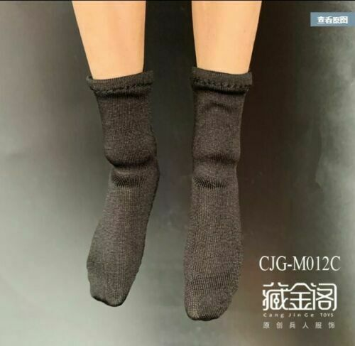 """1//6 Men/'s Black Sport Socks Clothes For 12 /"""" TBL HT Strong Muscle  Figure Body"""