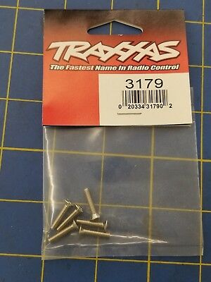 TRAXXAS 3179 SCREWS 3x15mm COUNTERSUNK MACHINE ** NEW **