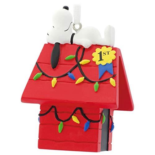 Peanuts Snoopy on Doghouse Christmas Tree Ornaments, Dog House Decor - Hallmark Peanuts Snoopy On Doghouse Christmas Ornaments Dog House EBay