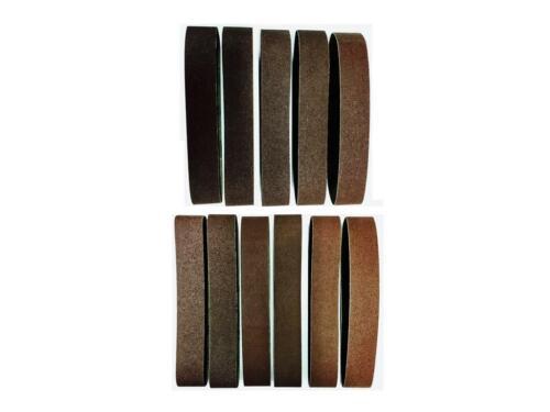 686 mm Convient pour Einhell grain 60//80//120 11er SET Schleifband 50 mm