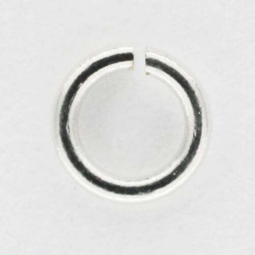 Jewelry Jump Rings Round Silvertone 2.5mm diameter Pack of 500