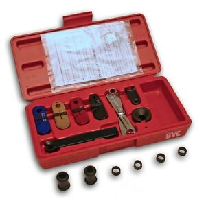 Color Coded Plastic Lisle 39400 Angled A//C Fuel Line Disconnect Tool Set