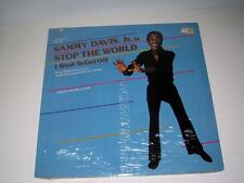 SEALED Original 1978 Cast STOP THIS WORLD I WANT TO GET OFF Sammy Davis Jr CURB