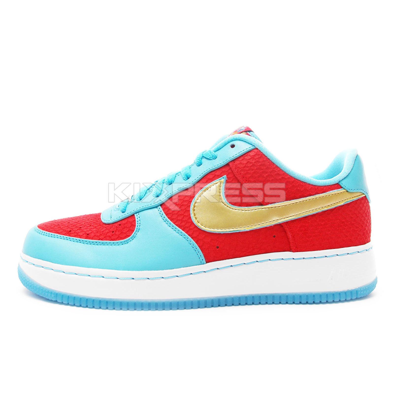 Nike Air Force 1 LW SU I/0 YOTD NRG [539771-670] NSW XXX 30th Year of the Dragon
