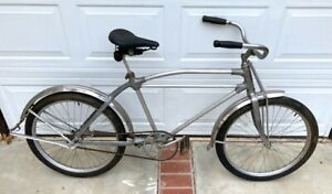 1936 SILVER KING BICYCLE EARLY VERSION OF THE ICONIC ALUMINUM ART DECO BICYCLE