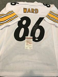 a5d64c155 Image is loading HINES-WARD-AUTOGRAPHED-SIGNED-PITTSBURGH-STEELERS-JERSEY- JSA-