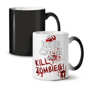 Keep Calm Slogan NEW Colour Changing Tea Coffee Mug 11 oz   Wellcoda