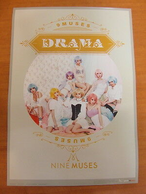 NINE MUSES - Drama [OFFICIAL] POSTER *NEW* K-POP