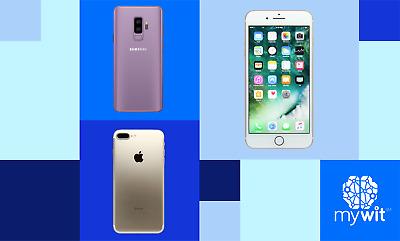 Refurbished Apple and Samsung Smartphones